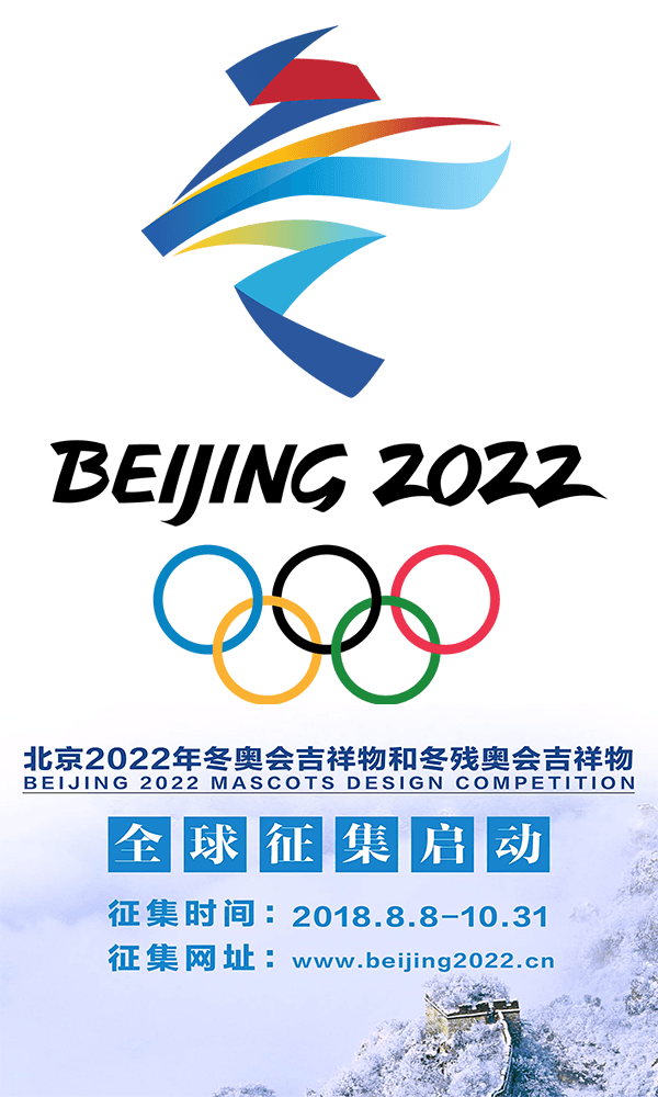 Olympic And Paralympic Winter Games Beijing 2022 Mascots Design