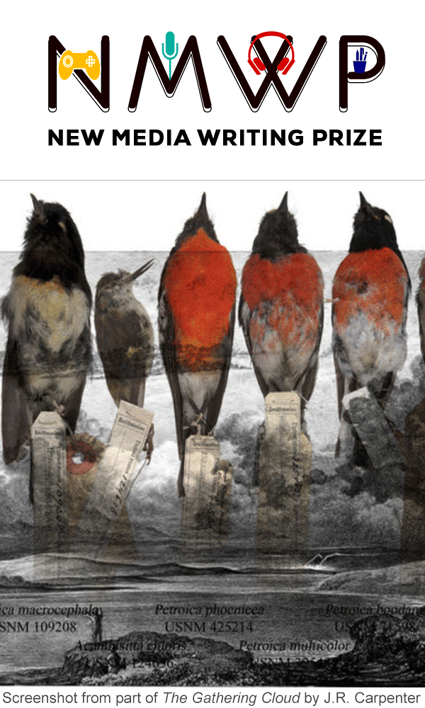 The New Media Writing Prize 2018