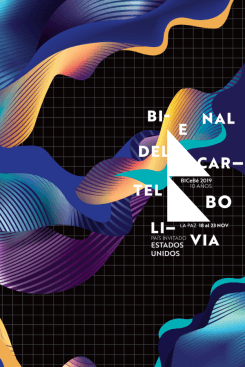 The Biennial of Poster Bolivia BICeBé® 2019