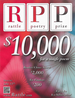 The Rattle Poetry Prize 2019