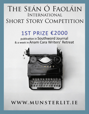 The Seán Ó Faoláin Short Story Competition 2019