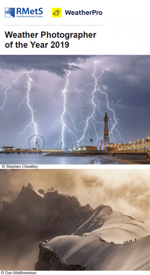RMetS Weather Photographer of the Year 2019