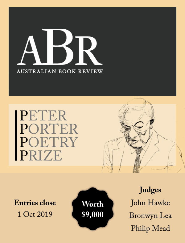 2020 Peter Porter Poetry Prize - Writing - - Writing