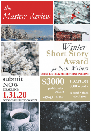 The Masters Review Winter Short Story Award
