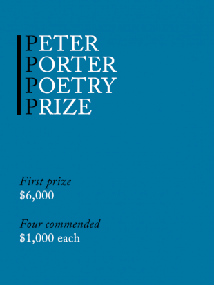 2021 Peter Porter Poetry Prize