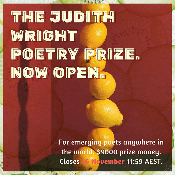Judith Wright Poetry Prize 2020
