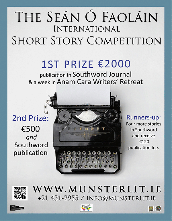 The Seán Ó Faoláin Short Story Competition 2018