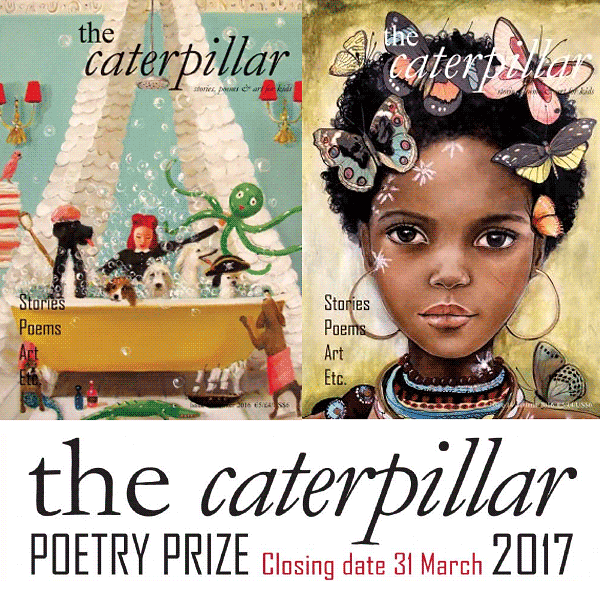 The Caterpillar Poetry Prize 2017